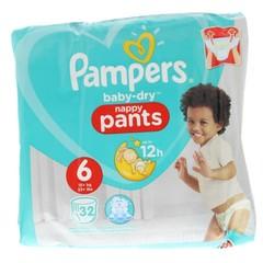 Pampers Baby Trockenhose XL S6 32 Stk