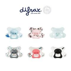 Difrax Schnuller natürlich 6+ mit Ring 1 Stck
