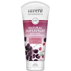 Lavera Duschgel / Körperwäsche natürliche Superfrucht 200 ml