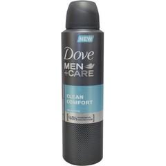 Dove Deodorant Spray Männer reinigen Komfort 150 ml