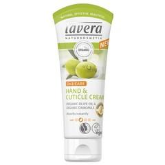 Lavera Hand- & Nagelcreme / Nagelhautcreme 2 in 1 Olive 75 ml