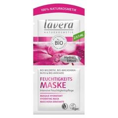 Lavera Maske / Maske feuchtigkeitsspendende weiße Rose 10 ml