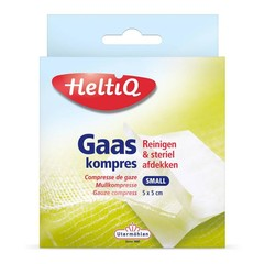 Heltiq Gaze komprimiert 5 x 5 cm 16 Stück