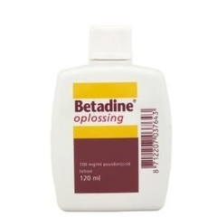 Betadine Betadin Jodlösung 100 mg / ml 120 ml