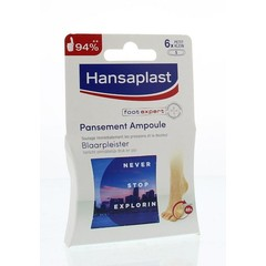 Hansaplast SOS Blisterputz klein 6 Stück