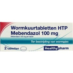 Healthypharm Mebendazol / Wurmheilung 2 Tabletten