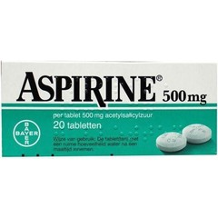 Aspirine Aspirin 500 mg 20 Tabletten