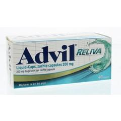 Advil Advil reliva Flüssigkeitskappen. 200 40 Kapseln.