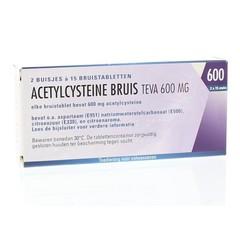Teva Acetylcystein 600 mg 30 Brausetabletten