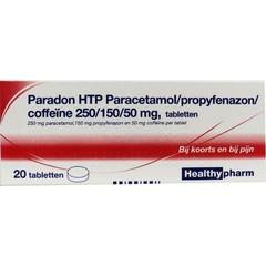 Healthypharm Paradon Blister 2 x 10 20 Tabletten