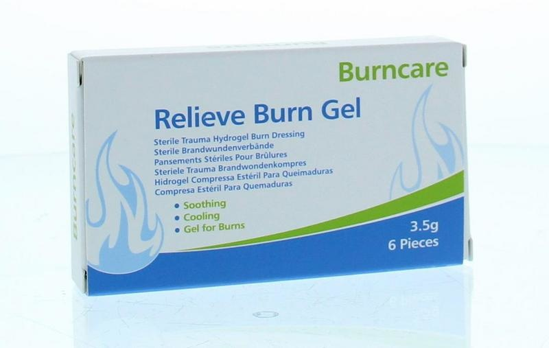 Burncare Burncare Gel Beutel 3,5 Gramm 6 Stück 6 Stk