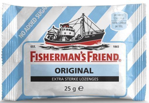 Fishermansfriend Fishermansfriend Original extra stark zuckerfrei 25 Gramm 25 Gramm
