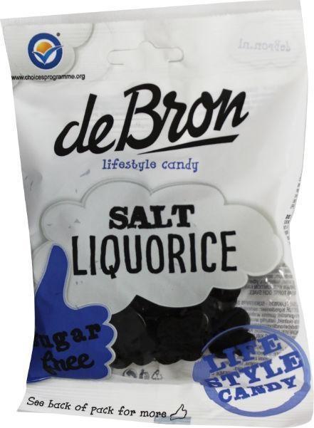 Andere De Bron Klavertjes Salz / Salz Lakritz zuckerfrei 100 Gramm 100 Gramm