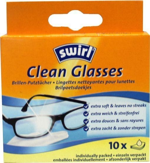 Swirl Swirl Glasses wischt 10 Stück ab 10 Stk