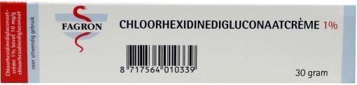 Fagron Fagron Chlorhexidin 1% Cremedigluconat 30 Gramm 30 Gramm