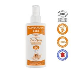 Alphanova Sun Sonnenschutzspray SPF50 Baby ohne Parfüm 125 ml