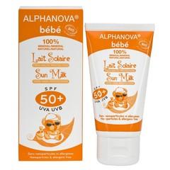 Alphanova Sun Sonnenschutzmilch Baby SPF50 ohne Parfüm 50 Gramm