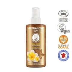 Alphanova Sun Sun veganer Trockenölspray Glitter Bio 125 ml