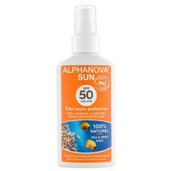 Alphanova Sun Sun veganes Spray SPF50 Bio 125 ml