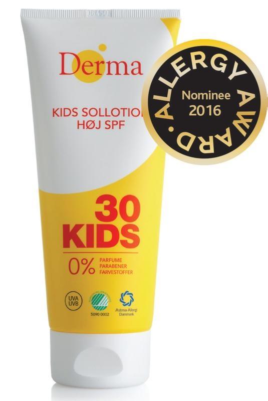Derma Derma Sun Kinderlotion SPF30 200 ml 200 ml