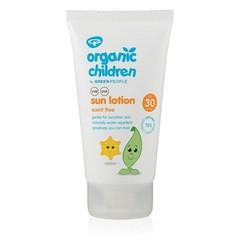 Green People Sonnenschutz SPF30 Kinderparfüm frei 150 ml