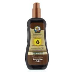 Australian Gold Sprühen Sie Gel mit Bronzer SPF6 237 ml ein