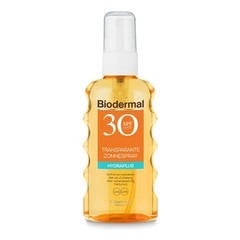 Biodermal Transparentes Sprühhydraplus SPF30 175 ml