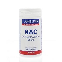 Lamberts N Acetylcystein 60 Kapseln.