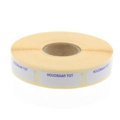 Blockland Haltbarkeit des Etikettenstreifens bis zu 30 x 10 mm 1000 Stück
