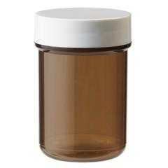 Blockland Plastobel Tablettenflasche verschlossen braun 35 ml 90 Stück