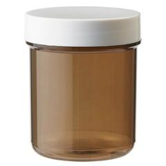 Blockland Plastobel Tablettenflasche brauner Verschluss 70 ml 56 Stück