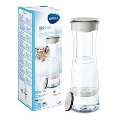 Brita Wasserfilterkaraffe weich grau füllen und servieren 1 Stck