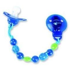 Difrax Schnuller Perlen Cord Boy 1 Stck