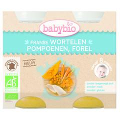 Babybio Bohnen Forelle 12 Monate 200 Gramm 2 Stück