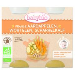 Babybio Kartoffel Karotten Kalb 200 Gramm 2 Stück
