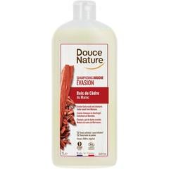 Douce Nature Duschgel & Shampoo Ausweichen mit Zedernholz 1 Liter