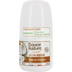 Douce Nature Deo-Rolle auf Kokosnuss 24h 50 ml