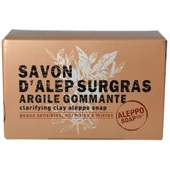 Aleppo Soap Co Aleppo Seife mit Ton in Box 150 Gramm