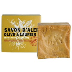 Aleppo Soap Co Aleppo Seife Olive und Lorbeer 100 Gramm