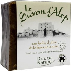 Douce Nature Seife Aleppo Block 12% 200 Gramm