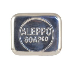 Aleppo Soap Co Aluminium Seifenkiste leer für Aleppo Seife 1 Stck