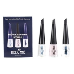 Herome French Manicure Set Mini 3 x 4 ml 1 Set