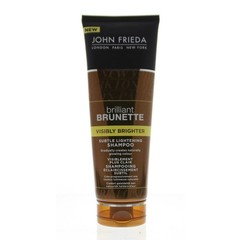 John Frieda Brilliant Brunette Shampoo sichtbar hell 250 ml