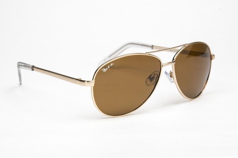 Haga Eyewear Haga Eyewear Sonnenbrillen Piloten braun polarisiert 1 Stk 1 Stück