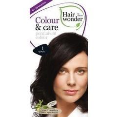 Hairwonder Farbe & Pflege 1 schwarz 100 ml