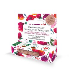 Beauty Made Easy Lipbalm philosophia botanica cremige Walnuss 4,8 Gramm
