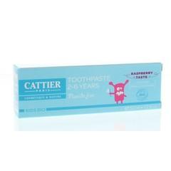 Cattier Zahnpasta Himbeere 2-6 Jahre 50 ml