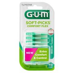GUM Soft Picks Comfort Flex normal / mittel 40 Stück
