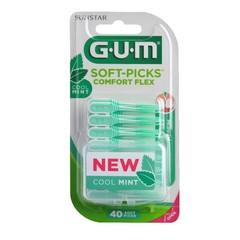 GUM Soft-Picks Comfort Flex Mint Medium 40 Stück