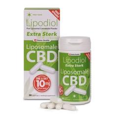 Neo Cure Lipodiol extra stark, Liposomal CBD 10 mg 30 vcaps